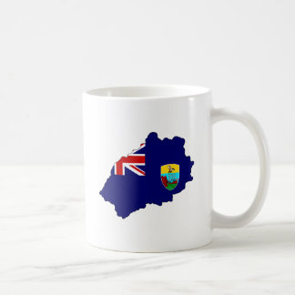 Saint Helena Flag Map full size Mugs