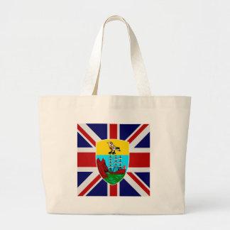 Saint Helena High quality Flag Jumbo Tote Bag