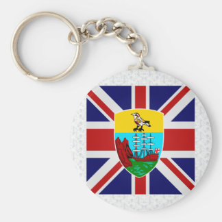 Saint Helena High quality Flag Basic Round Button Keychain