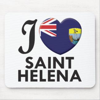 Saint Helena Love Mouse Pad