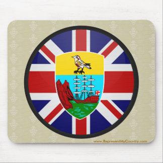 Saint Helena quality Flag Circle Mouse Pad