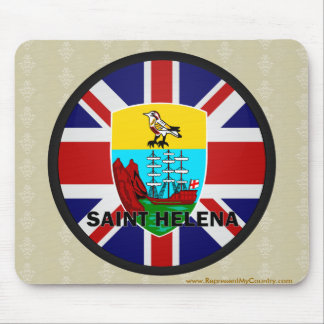 Saint Helena Roundel quality Flag Mouse Pad