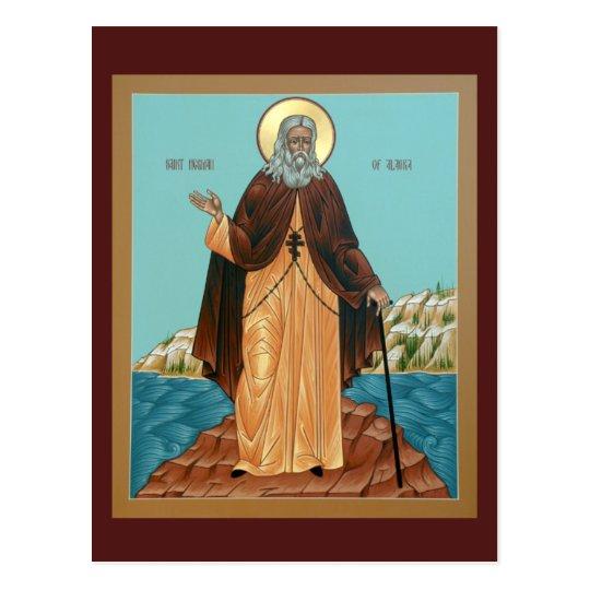 Saint Herman of Alaska Prayer Card