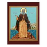 Saint Herman of Alaska Prayer Card Postcard