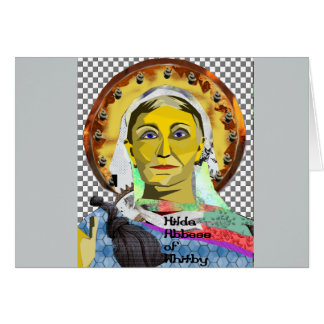 Saint Hilda of Whitby Stationery Note Card