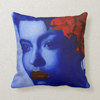 saint holiday throw pillow