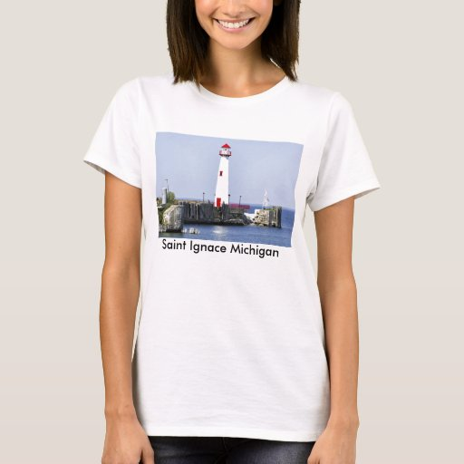 Saint Ignace Lighthouse T-Shirt