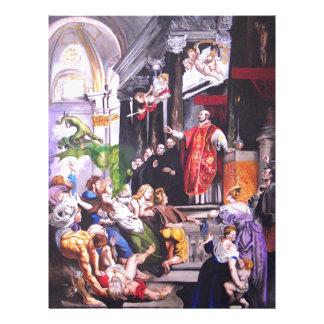 Saint Ignatius Loyola Letterhead