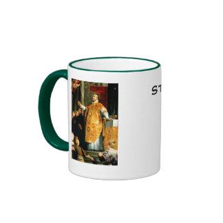 Saint Ignatius of Loyola* Coffee Cup Ringer Coffee Mug
