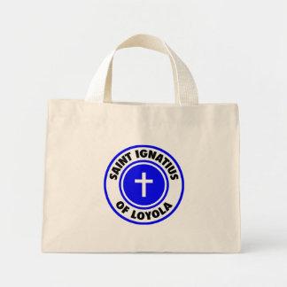 Saint Ignatius of Loyola Mini Tote Bag