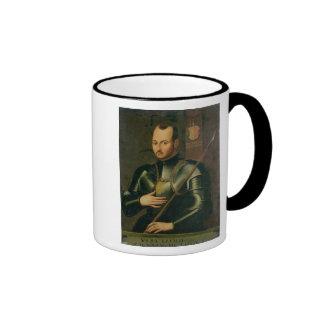 Saint Ignatius of Loyola Ringer Coffee Mug