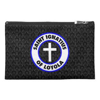 Saint Ignatius of Loyola Travel Accessories Bag