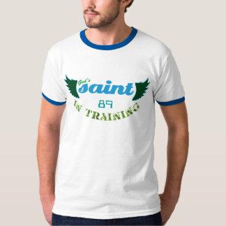 Saint in Training (blue) T-Shirt