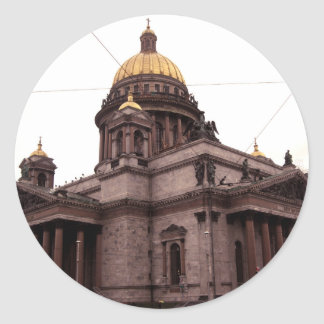 Saint Isaac's Cathedral Classic Round Sticker