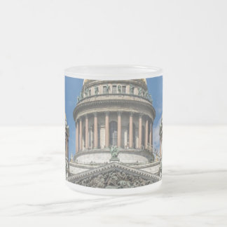 Saint Isaac's Cathedral in Saint Petersburg Russia 10 Oz Frosted Glass Coffee Mug