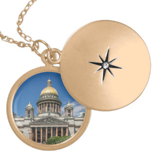 Saint Isaac's Cathedral in Saint Petersburg Russia Necklace
