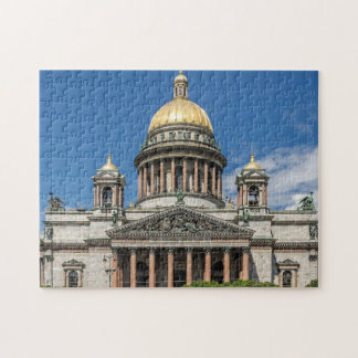 Saint Isaac's Cathedral in Saint Petersburg Russia Puzzle