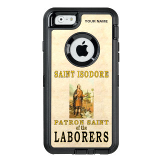 SAINT ISODORE (Patron Saint of Laborers) OtterBox Defender iPhone Case