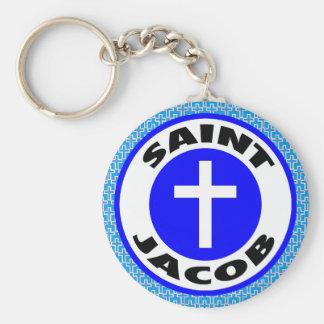 Saint Jacob Keychain