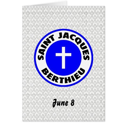 Saint Jacques Berthieu Card