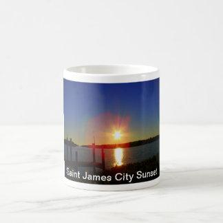 Saint James City Sunset Coffee Mug
