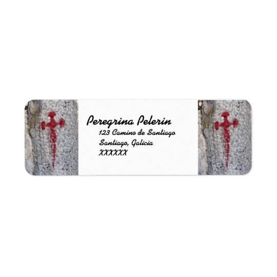 Saint James Cross Address Labels