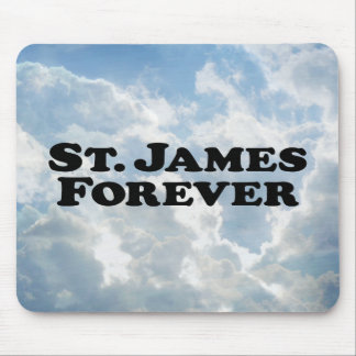 Saint James Forever - Basic Mouse Pad