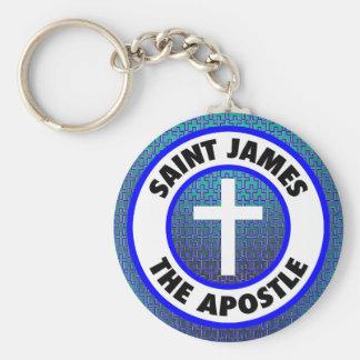 Saint James the Apostle Keychain