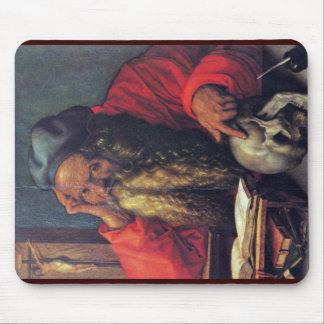 Saint Jerome By Albrecht Dürer Mousepads