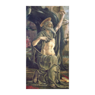 Saint Jerome, c.1470 Canvas Print