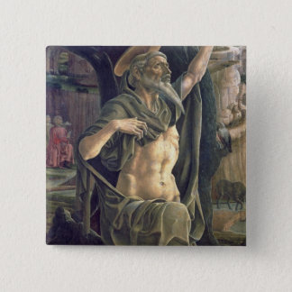 Saint Jerome, c.1470 Pinback Button