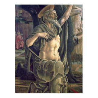 Saint Jerome c 1470 Post Card