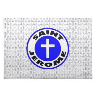 Saint Jerome Cloth Placemat