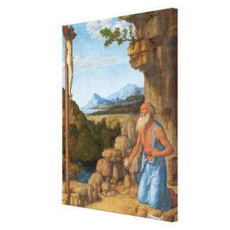 Saint Jerome in the Wilderness, c. 1500-05 Canvas Print
