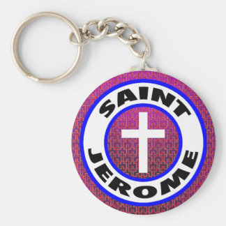 Saint Jerome Keychain