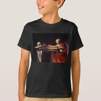 Saint Jerome Writing by Michelangelo Caravaggio T-Shirt