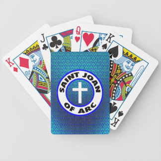 Saint Joan of Arc Bicycle Playing Cards