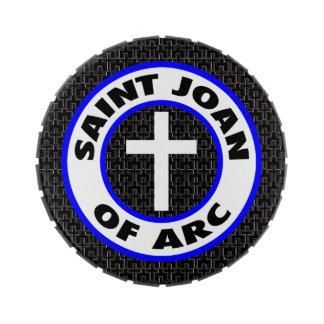 Saint Joan of Arc Candy Tin