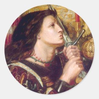 Saint Joan of Arc Classic Round Sticker