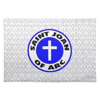 Saint Joan of Arc Cloth Placemat