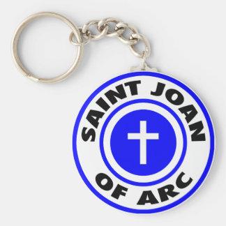 Saint Joan of Arc Keychain