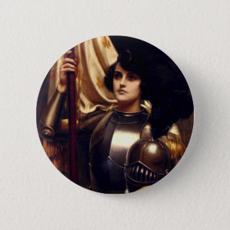 Saint Joan of Arc Pinback Button