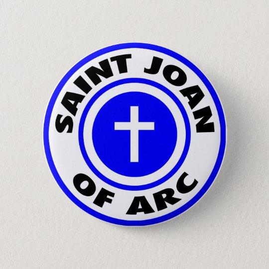 Saint Joan of Arc Pinback Button