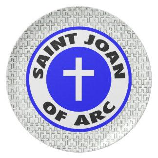 Saint Joan of Arc Plate