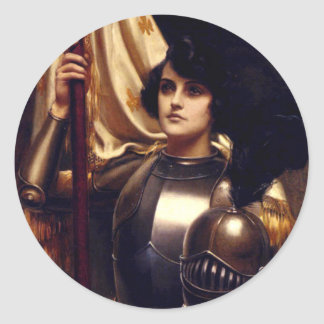 Saint Joan of Arc Round Sticker