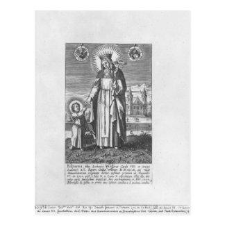 Saint Joan of France and Valois Postcard