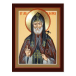 Saint Job of Pochaev Prayer Card Postcard