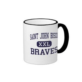 Saint John Bosco - Braves - High - Bellflower Coffee Mug