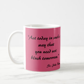 Saint John Bosco* Quote Mug 1