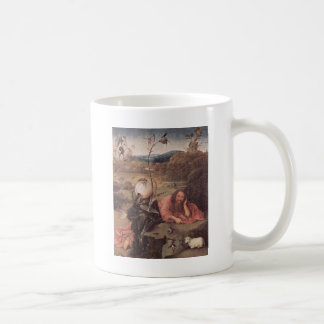 Saint John in the Wilderness 15th Century Coffee Mug
